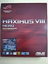 ASUS MAXIMUS VIII HERO LGA 1151 Intel Z170 HDMI SATA III USB 3.1 ATX 100% Neuve