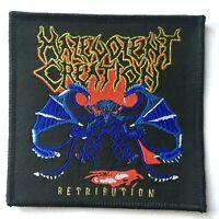 Malevolent Creation - Retribution - Tessuta Toppa Cucitura On Death Metal