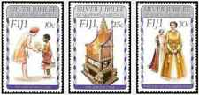 Timbres Famille royale Fidji 351/3 ** lot 25098