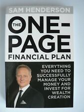 The One-page Financial Plan: Everything You Need to Successfully Manage Money