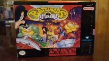 Battletoads In Battlemaniacs (Super Nintendo SNES) *Cart Box and Poster ONLY*
