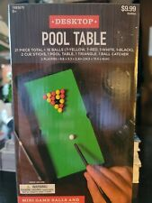 Desktop Pool Table Miniature Desk Toys Pool