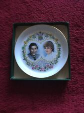 1981 Royal Wedding Staffordshire Fine Bone China Trinket Dish In Original Box