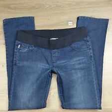 Soon Maternity Denim Jeans Straight Size 14 W35 L33.5 NWOT (A12)