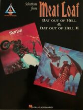 MEAT LOAF GUITAR TAB / TABLATURE / SELECTIONS FROM BAT OUT HELL I & II /  RARE