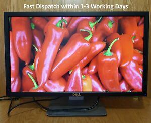 "Dell 24"" inch Full HD 1080p DVI VGA USB Hub Widescreen monitor"
