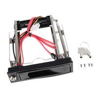 3.5Inch SATA 2.0 HDD Storage Mobile Rack Hard Drive Bracket Enclosure Caddy
