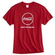 COCA COLA COKE TASTE THE FEELING T SHIRT  LARGE  NEW!!