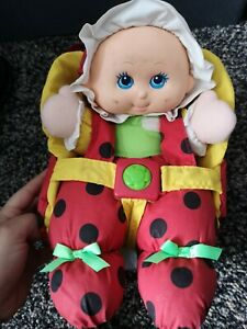 vintage lil lady ladybird doll/backpack