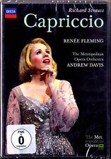 2.DVD STRAUSS: CAPRICCIO Renee Fleming Joseph Kaiser Sarah Connolly ANDREW DAVIS