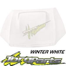 WINTER WHITE BONNET FG XR8 BOSS FORD FALCON 08-14 & FPV GS GT HOOD