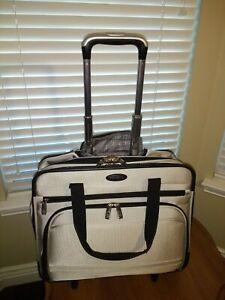 Samsonite Silver Wheeled Laptop Bag