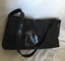 INNOVARE Black Leather Shoulder Bag / Handbag