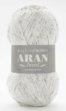 HAYFIELD Bonus ARAN Tweed WOOL Knit Crochet Craft Yarn 400g STORMCLOUD Grey 931