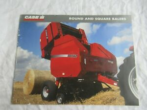 Case CASEIH RBX SBX LBX round and square balers brochure