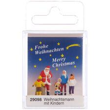 Preiser 29098 H0 Weihnachtsmann mit Kindern ++ NEU & OVP ++