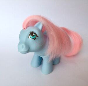 Vintage  💕My Little Pony💕 G1 1984 UK Exclusive School Baby Pictures Pink Hair