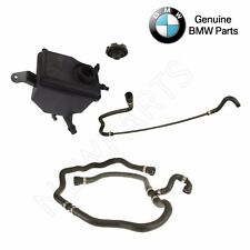 For BMW E60 Expansion Tank w/ Level Sensor Cap & Upper & Lower Water Hose OES