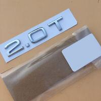 For Audi A3 S3 A4 S4 A5 S5 A6 S6 TT 3.2 Chrome Rear Badge Emblem 84550-A5000 h