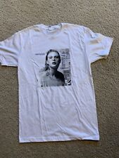 Taylor Swift Reputation Album cover white t shirt small official brand new