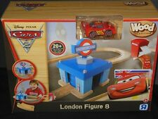 Disney Pixar Cars 2 Wood Collection London Figure 8 New NIB Rare