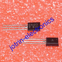 10 PCS KTC1027-Y TO-92L EPITAXIAL PLANAR NPN TRANSISTOR HIGH VOLTAGE