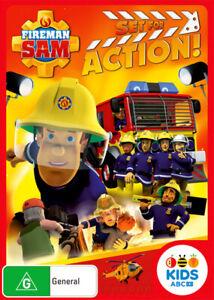 Fireman Sam: Set for Action!  - DVD - NEW Region 4