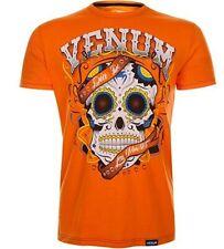 Venum santa muerta rashguard MMA boxing sparring t-shirt size large color orange