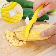 Asamour Corn Stripper Cutter Corn Clean Brush Vegetable Fruit Peeler