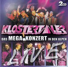 DIE KLOSTERTALER : LIVE - DAS MEGA-KONZERT IN DEN ALPEN / 2 CD-SET - TOP-ZUSTAND