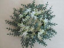 Blütenkranz 20cm Sternblüten Tischkranz Dekokranz Künstliche Kunst Blume Pflanze
