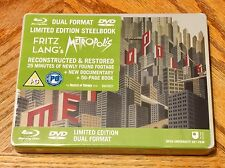 Blu Ray DVD Steelbook Fritz Lang Metropolis Brand New Sealed Exclusive Rare