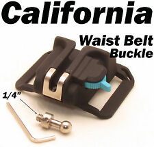"1/4"" Camera waist Holster Quick Hunter Shoot belt button With, Pin, Allen Wrench"