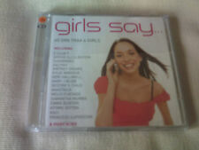 GIRLS SAY - 40 TRACK 2 CD ALBUM - KYLIE MINOGUE/LOUISE/GERI HALLIWELL/AALIYAH