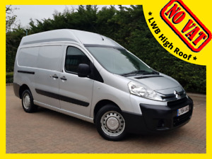 2015 CITROEN DISPATCH 1200 2.0 HDi L2 H2 Van LWB High Roof * NO VAT *