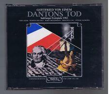 GOTTFRIED VON EINEM BOX 2 CDS  LA MORT DE DANTON/ THEO ADAM/ L. ZAGROSEK
