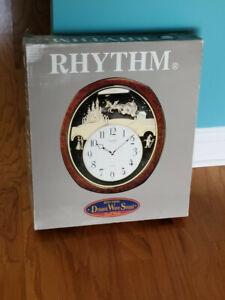 Princess Fantasy Musical Wall Clock by Rhythm 4MH862WU23
