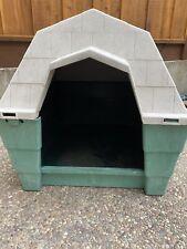 Pet Mate Large Green Gray Dog House