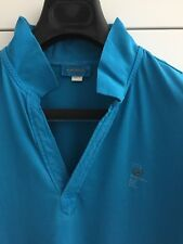 DIESEL Muscle Fit Polo Shirt SMALL S blue