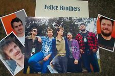 The FELICE BROTHERS Autographed Photo & Photos -VERY HOT
