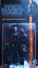 STAR WARS BLACK SERIES DARTH PLAGUEIS BS18