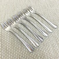 Art Deco Christofle Silver Plated Oyster Forks BOREAL Pattern French Cutlery
