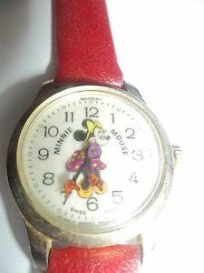 MINNIE MOUSE KIDS WIND UP WATCH