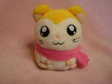 """Hamtaro Ham-Ham Hamster Pashmina 2002 Hasbro Small Plush 3.5"""" tall"""