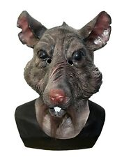 Rat Mask Splinter Ninja Turtles Animal Latex Sewer Fancy Dress Halloween Costume