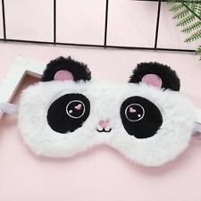 Cute Panda Sleeping Face Eye Mask Blindfold Shade Traveling Sleep Eye Aid q