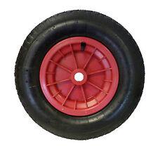 """RED wheelbarrow 16"""" / Trolley Wheel Pneumatic Tyre 4.80 / 4.00 - 8 Inner tube"""