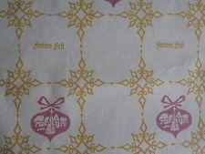 10 Bögen DDR Weihnachtspapier Geschenkpapier 68x48 cm