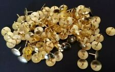 Thumb Tacks Push Pins 100 Pcs Brass With Storage Case Easy Insert Office Supply