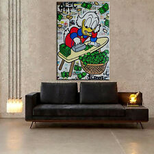 "Alec Monopoly ""Ironing board"" HD print on canvas large wall picture 40x24"""